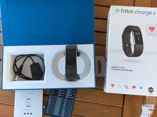Fitbit charge 2 tamaño pulsera S