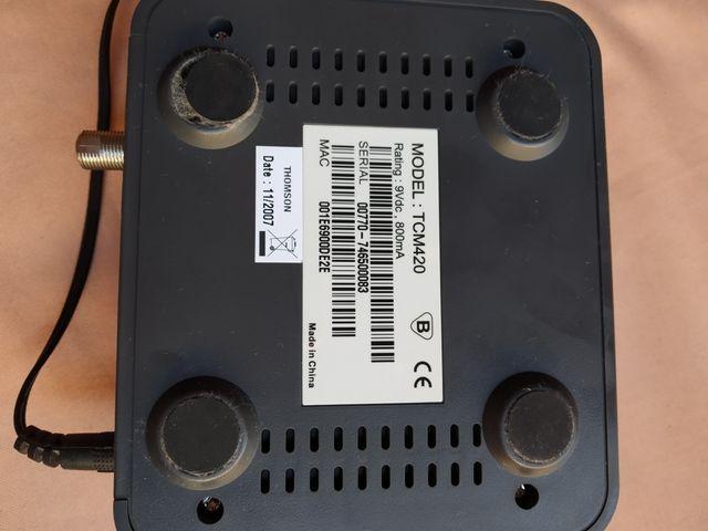 Tcm420 thomson digital broadband Thomson tcm420