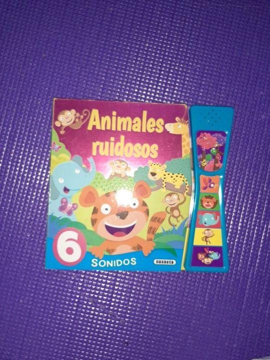 Libros infantiles con sonidos