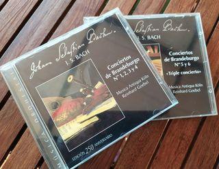 Cd's de Bach Conciertos de Brandeburgo del 1 al 6