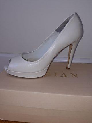 zapato piel novia talla 38