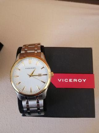 reloj viceroy esfera dorada