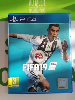 JUEGO PS4 FIFA 19!! GARANTIA!!