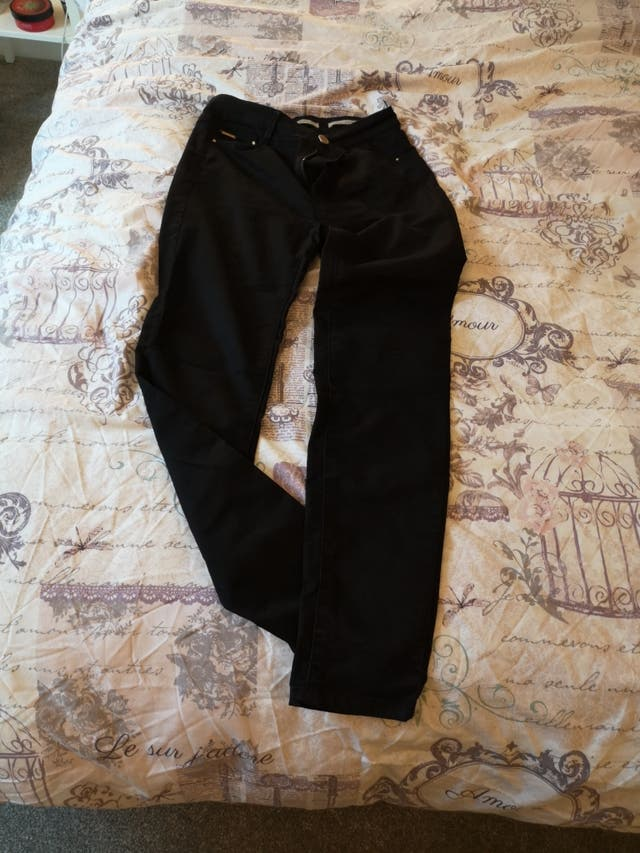 Hight waist black trouser