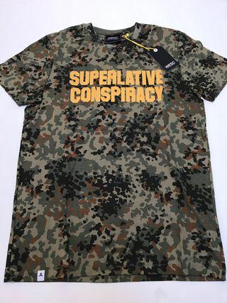 Camiseta Camuflaje Wesc