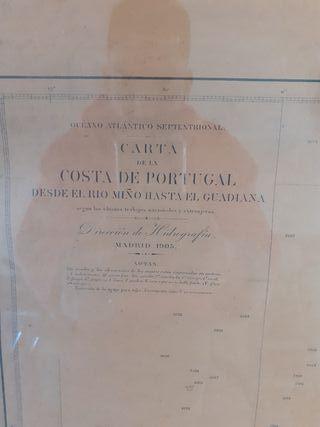 carta náutica 1905