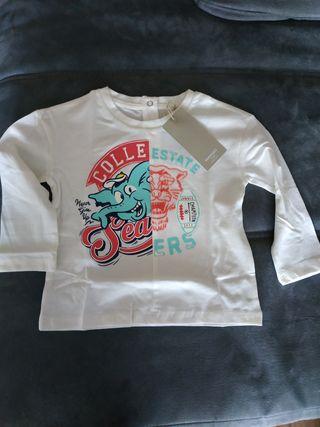 camiseta bebé 12-18meses