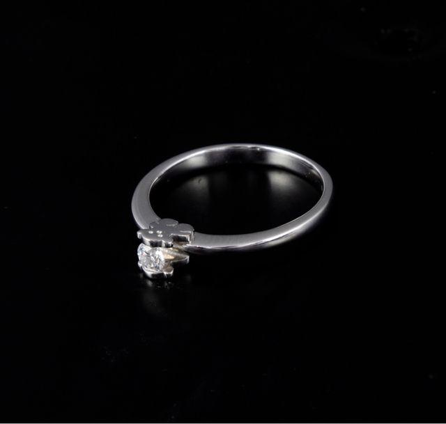Sortija Tous Oro Blanco con diamante