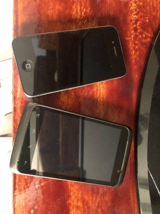 Iphone y alcatel onetowch