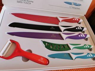 Juego de 6 cuchillos de SwissTouch
