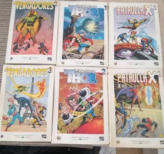 comics x men... El poderoso Thor.... Los vengadore