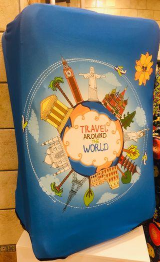 """Fundas para """"guapear"""" maleta de Viaje por el Mundo"""