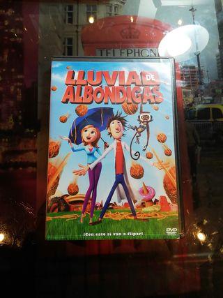 """Película """"Lluvia de Albóndigas 1"""" DVD"""