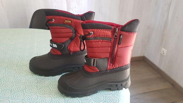 botas nieve, 34