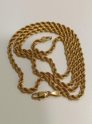 Cadena oro tipo cordon