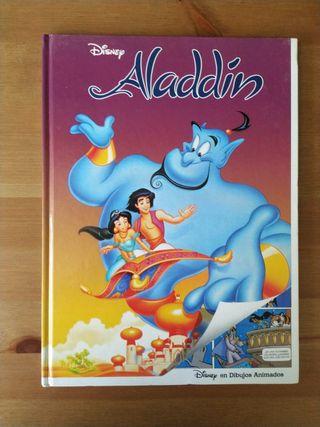 Cómic de Aladdin Disney