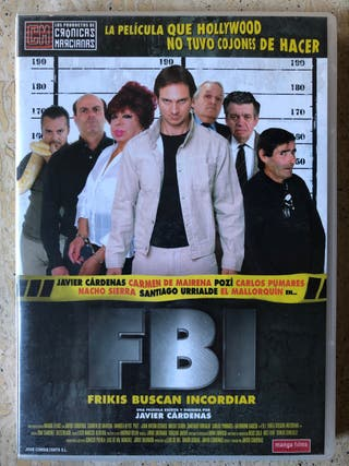 FBI frikis buscan incordiar. Dvd película doble