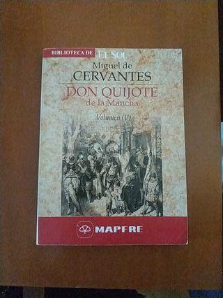 DON QUIJOTE DE LA MANCHA (VOLUMEN 5)/Cervantes