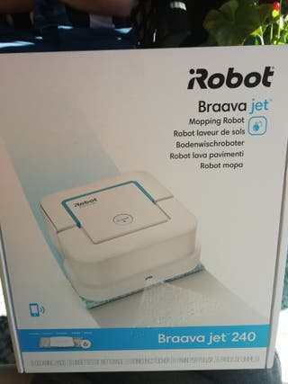 iRobot Braava jet 240 Robot laveur de sols