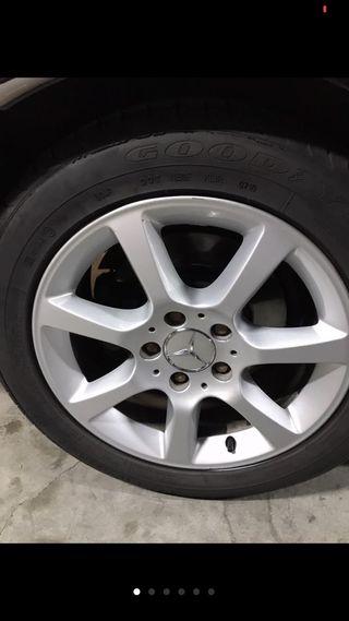 Llantas mercedes. Neumáticos good year