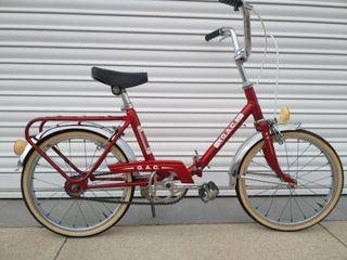 Bicicleta gac infantil plegable