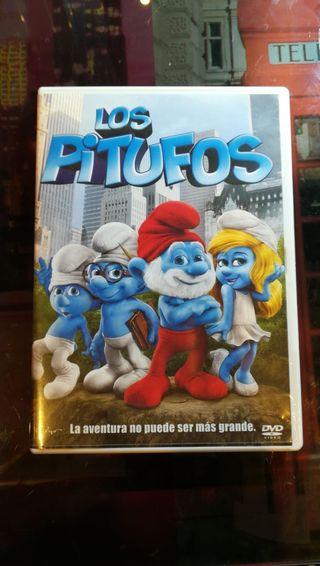 Película de los Pitufos DVD
