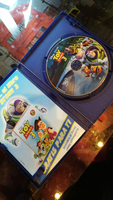 Película Toy Story 3 DVD