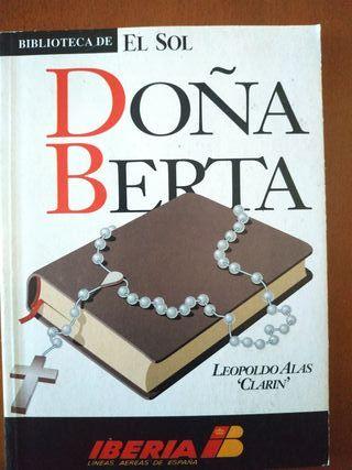 """DOÑA BERTA(Leopoldo Alas""""Clarín)"""
