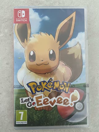 [Nuevo] - Pokemon let's go eevee - nintendo switch