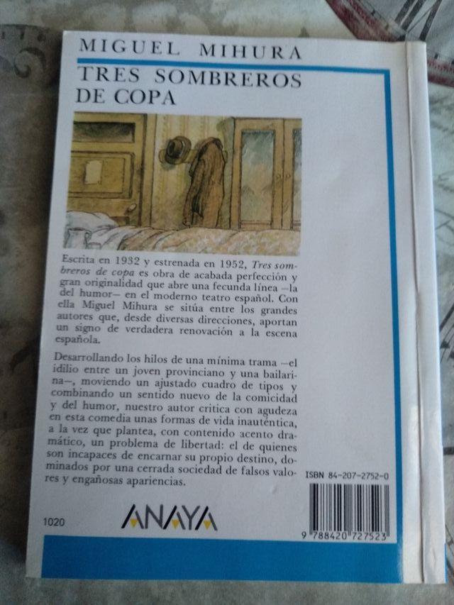 TRES SOMBREROS DE COPA de Miguel Mihura