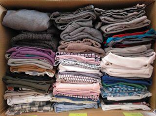 Pack 36 piezas camisas/sudaderas/polos/camisetas