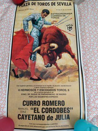 carteles de corridas de toros pequeños reproduccio
