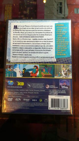 Película Phineas y Ferb DVD