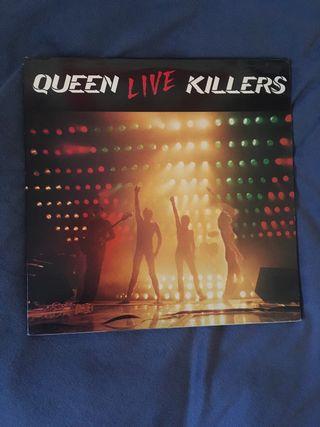 """Queen """"Live Killers"""", 1979 Vinilo raro"""