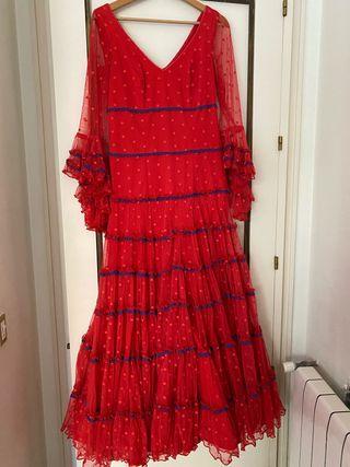 Traje de flamenca de Pol Núñez