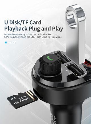 Cargador de coche MP3, USB y Tarjeta Sim NUEVO
