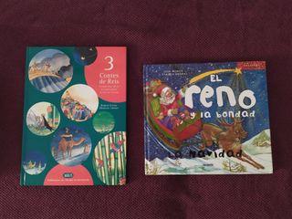 pack 2 libros de navidad