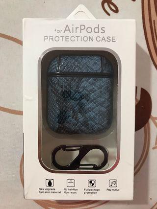 Funda AirPods de cuero