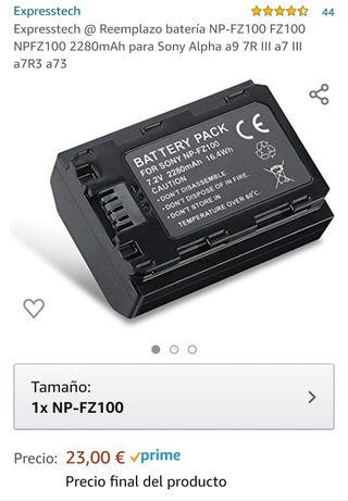 Batería NP-FZ100 para Sony