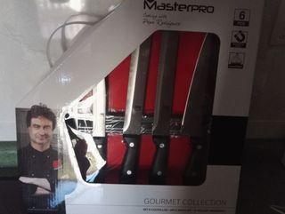 set cuchillos masterpro