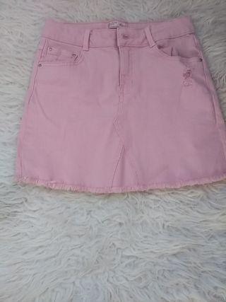 Falda rosa niña Zara kids