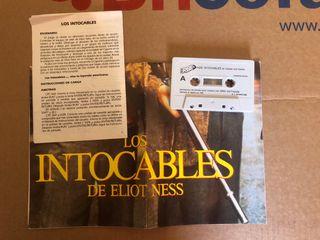 Juego Commodore C64 Los intocables