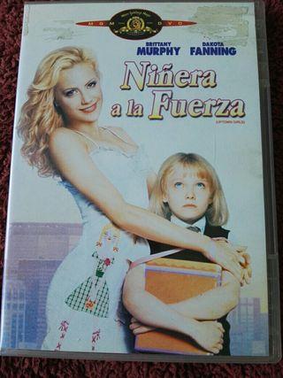 Película DVD Niñera a la fuerza