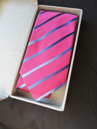 corbata roja 100% seda italiana