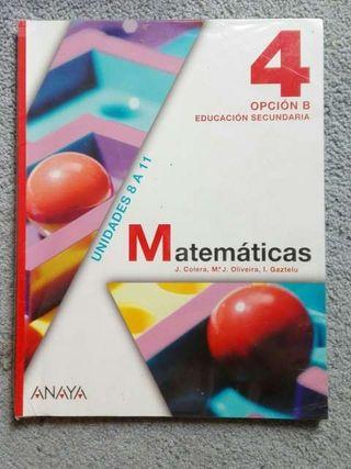 MATEMÁTICAS 4º ESO