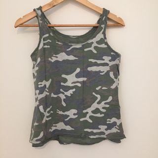 Camiseta tirantes militar