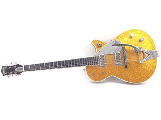 Guitarra eléctrica Gretsch Gold Sparkle Jet