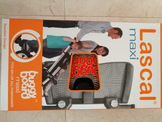 Patinete BUGGY BOARD MAXI Negro. MARCA LASCAL