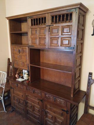 mueble comedor rustico