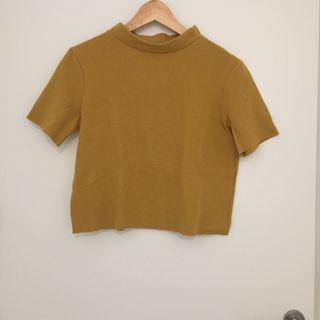 Camiseta suave amarillo yema